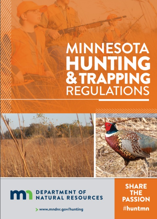 MN DNR hunting and trapping rules